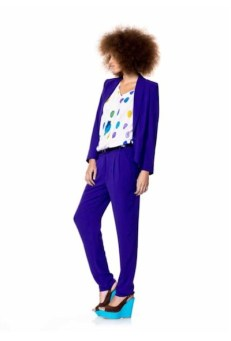 PURPLE for spring 2012 benetton FASHIONDAILY MAG loves