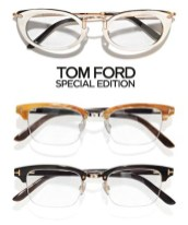 TOM FORD special edition glasses launch april 2012 FashionDailyMag sel 1