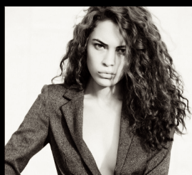 CURLY HAIR portrait by lynn lane on FashionDailyMag
