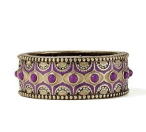 LIA SOPHIA sari bracelet purple for music festival dressing
