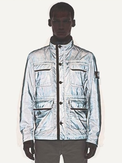 STONE ISLAND reflective outerwear for men for spring 2012 FashionDailyMag sel 1 brigitte segura