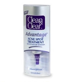 CLEAN&CLEAR advantage acne spot treatment FashionDailyMag drugstore beauty ss12