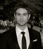 Chace Crawford black and white