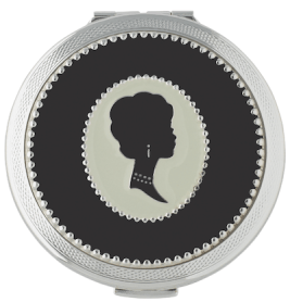 LULU GUINNESS Cameo Compact mirror for mom