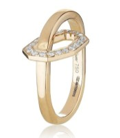 OCTIUM DIAMOND OCTAGON ring at HARRODS on MOMS day gifts FashionDailyMag