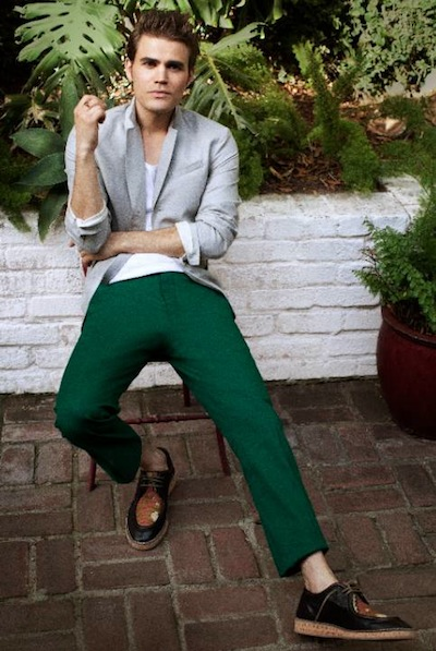 PAUL WESLEY black and white summer 2012 greens on FashionDailyMag