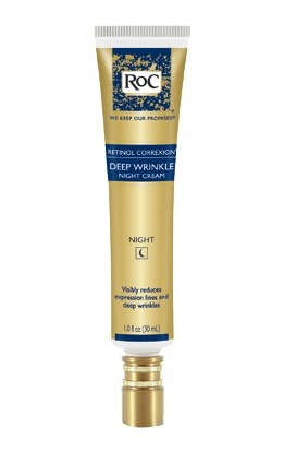 ROC retinol correxion deep wrinkle cream FashionDailyMag drugstore beauty ss12