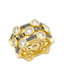 STACKED RINGS from ICE curated by brigitte segura FashionDailyMag moms day