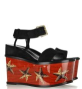 YSL suede starfish platform shoes FASHIONDAILYMAG loves