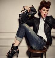 DIESEL MEISEL behind the scenes fall 2012 campaign FashionDailyMag coco rocha