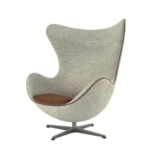 FRITZ HANSEN egg chair by Ame Jacobsen bon marche