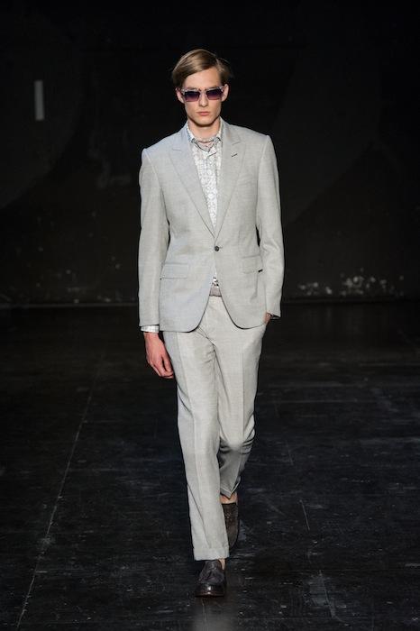 Pixelformula Hardy Amies Summer 2013 Menswear ready to wear Fashion Show Paris