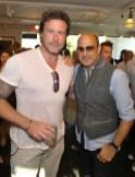 John Varvatos Event 2012 Dean McDermott and John Varvatos FashionDailyMag Selects