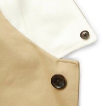 THOM BROWNE DETAILS collar on trench MrPorter fall 2012