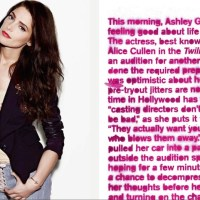 Twilight Saga's Ashley Greene covers Nylon DENIM issue