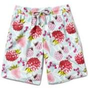 VOLEBREQUIN fruit print mens swim shorts
