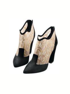 nicholas kirkwood calfskin and lace booties on FashionDailyMag BM