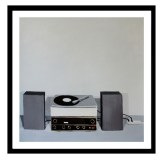 AW CynthiaDaignault Someone recordplayer blackframe
