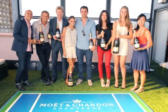 First Annual Moet & Chandon Tiny Tennis Invitational