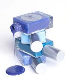 POLISH & CO blue nail polish FashionDailyMag