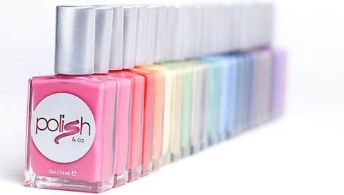 POLISH & CO nail polish on FashionDailyMag