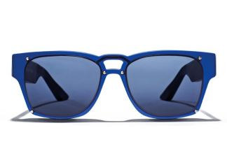 STONE ISLAND eyewear blue sunglasses on FashionDailyMag
