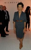 IndiaBeauforte at Nicholas K ss13 NYFW on FashionDailyMag