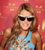 ANNA DELLO RUSSO in ADR sunglasses pfw FashionDailyMag
