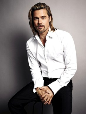 BRAD PITT for CHANEL fragrance on FashionDailyMag