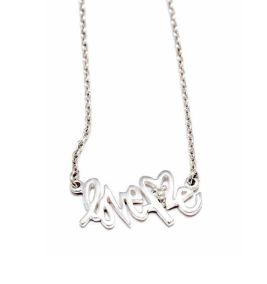 LOVE ME necklace bing bang jewelry FashionDailyMag sel 1