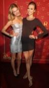 Toni Garrn Karlie Kloss In ADR at hm PFW on FashionDailyMag