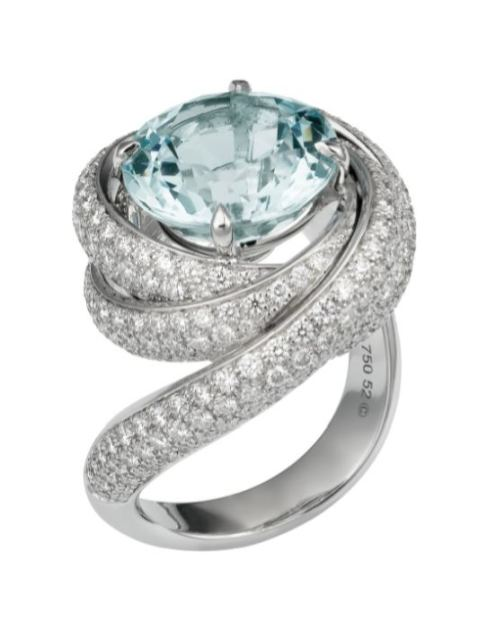 CARTIER TRINITY RING blue holiday FashionDailyMag