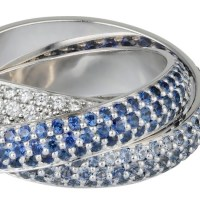 CARTIER Trinity Color collection RINGS on the HOLIDAY magic