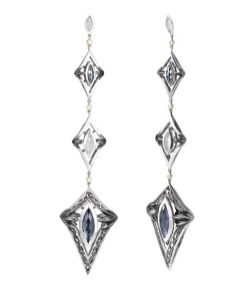 HERA geo earrings | FashionDailyMag leather accessories guide