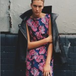 TopShop pink and blue dress | FashionDailyMag
