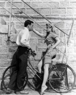 BRIGITTE Bardot with Jean-Louis Trintignant