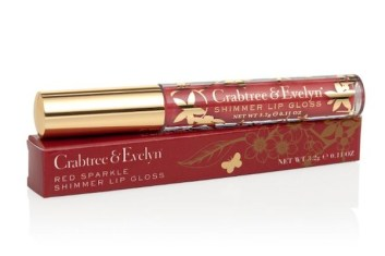 crabtree evelyn lip gloss shimmer FashionDailyMag
