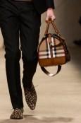 men walking Burberry Prorsum Womenswear Spring Summer 2013 Collection