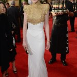 Michelle Dockery with Moet & Chandon at the 70th Golden Globes