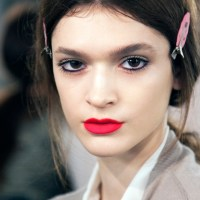 Costello Tagliapietra backstage beauty + fall 2013 runway highlights