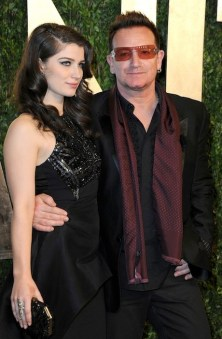 EVE HEWSON and BONO at VF oscars party CB Luxe