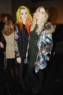 Chloe Norgaard, Elsa Sylvan NICOLE MILLER Fall/Winter Fashion Show