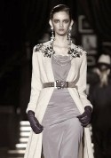 dsquared fall 2013 black and white | FashionDailyMag