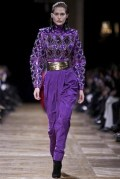 BALMAIN FW13 PFW FashionDailyMag sel purple 2