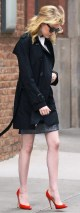 Emma Stone leaves her NYC hotel