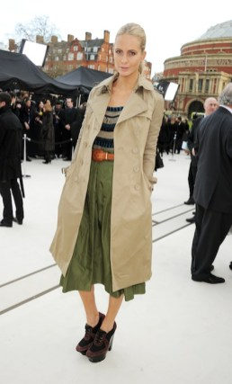 poppy delevingne Burberry Autumn Winter 2012 Womenswear Arrivals