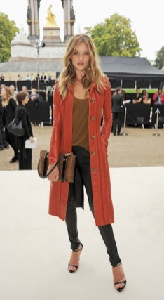 rosie huntington whitleley Burberry