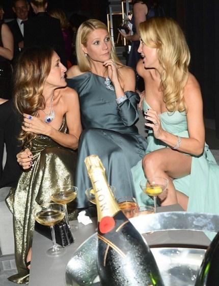 sarah jessica parker, gwyneth, kate hudson tiffanys blue Moet fdmloves