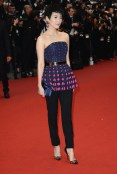Zhang Ziyi in cannes FashionDailyMag