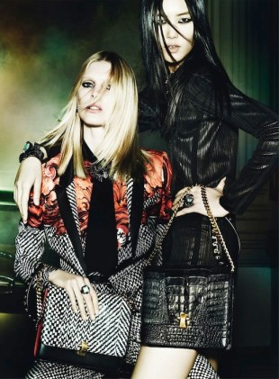 Roberto Cavalli FW13-14 Ad Campaign fashiondailymag selects 3